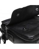 Фотография Черная кожаная мужская сумка Keizer K12051-black