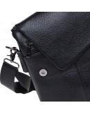 Фотография Черная кожаная вместительная сумка Keizer K12055-black