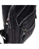Фотография Рюкзак слинг мужской кожаный Keizer K13035-black