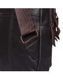 Фотография Коричневый мужской кожаный слинг Keizer K13035-brown