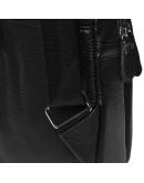 Фотография Черный рюкзак - слинг мужской Borsa Leather K1330-black