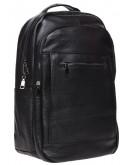 Фотография Мужской рюкзак кожаный Keizer k1336-black