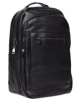 Мужской рюкзак кожаный Keizer k1336-black
