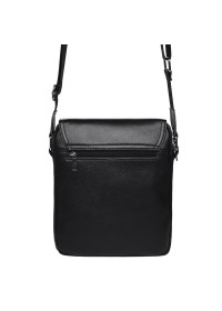 Черная мужская сумка на 2 отделения Keizer K13508-black
