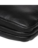 Фотография Черная мужская сумка на 2 отделения Keizer K13508-black