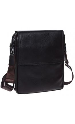 Коричневая мужская сумка на 2 отделения Keizer K13508-brown