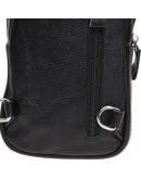 Фотография Черный кожаный слинг Borsa Leather K15026-black