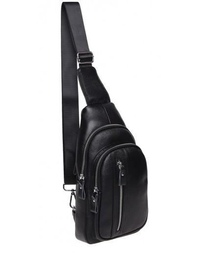 Фотография Сумка - рюкзак мужская слинг Keizer K15055-black