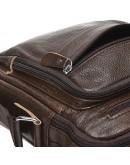 Фотография Коричневая мужская сумка на плечо Borsa Leather K15112-brown