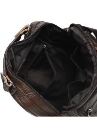 Коричневая мужская сумка на плечо Borsa Leather K15112-brown