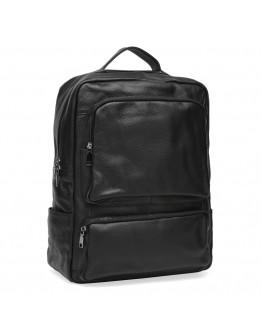 Рюкзак мужской кожаный черный Keizer K1544-black