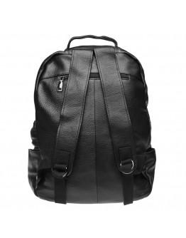 Черный мужской кожаный рюкзак Keizer K1551-black