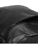 Фотография Черный мужской кожаный рюкзак Keizer K1551-black