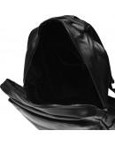 Фотография Черный мужской кожаный рюкзак Keizer K1552-black