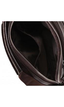 Коричневая мужская кожаная сумка Keizer K16013-brown