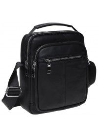 Черная сумка - барсетка Keizer K16018-black