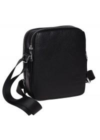 Мужская кожаная сумка через плечо Ricco Grande K16266-black