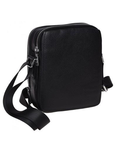 Фотография Мужская кожаная сумка через плечо Ricco Grande K16266-black