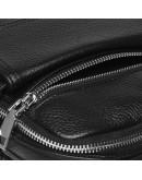 Фотография Черная кожаная сумка - барсетка Ricco Grande K16268-black