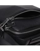 Фотография Кожаная мужская барсетка - сумка на плечо Ricco Grande K16406a-black