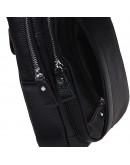 Фотография Слинг-рюкзак мужской кожаный Keizer K16601-black