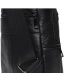 Фотография Черный мужской кожаный слинг Keizer K1683-black