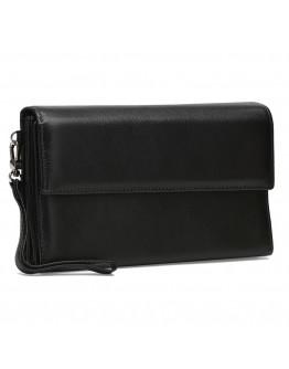 Мужской черный клатч Ricco Grande K17m-184-black