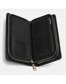 Фотография Кожаный клатч на 2 молнии Ricco Grande K17m106-black