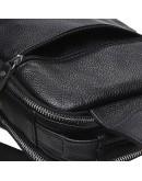 Фотография Черный мужской слинг с ручкой Keizer K18693-black