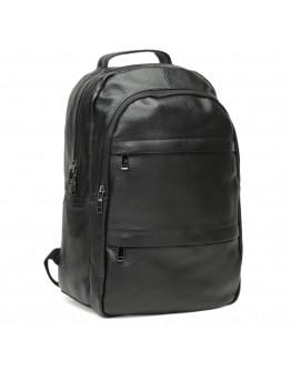 Кожаный мужской рюкзак черный Keizer K1883-black