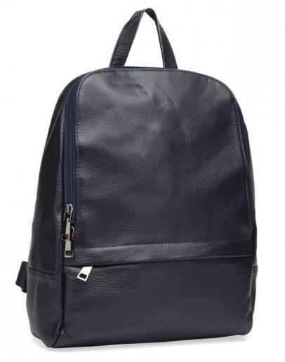 Фотография Синий женский кожаный рюкзак Keizer K18833bl-blue