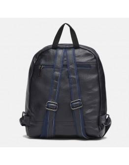 Синий женский кожаный рюкзак Keizer K18833bl-blue