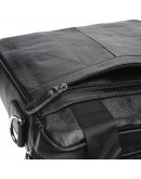 Фотография Мужская черная сумка Borsa Leather K18859-black