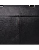 Фотография Черная кожаная сумка для документов Keizer K19158-1-black
