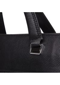 Черная кожаная сумка для документов Keizer K19158-1-black