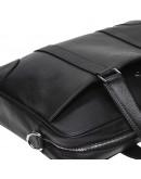 Фотография Черная деловая кожаная сумка Keizer K19904-1-black