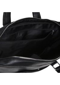 Черная деловая кожаная сумка Keizer K19904-1-black