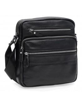 Черная мужская сумка на плечо Keizer K19981bl-black