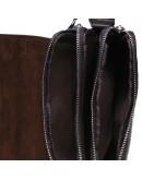Фотография Сумка коричневая на 2 отдельных отделения Keizer K1B065-brown