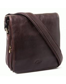 Коричневая мужская кожаная сумка на плечо Katana k32578-2