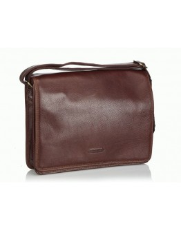 Коричневая сумка мессенджер мужская Katana k36107-2