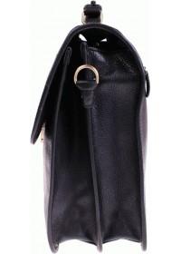 Черный кожаный мужской элегантный портфель Katana k36804-1