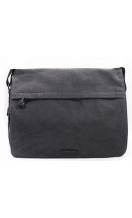 Серая мужская тканевая сумка на плечо Katana k6565-1