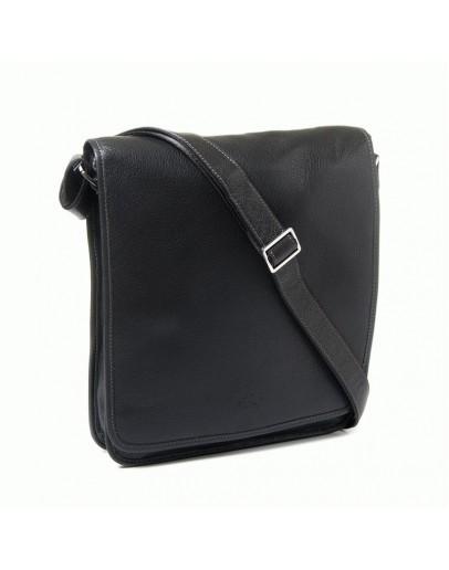Фотография Черная сумка плечевая для мужчины Katana k69104-1