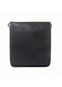 Черная сумка плечевая для мужчины Katana k69104-1