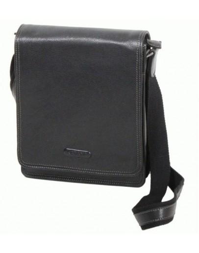 Фотография Сумка черная мужская для ношения на плече Katana k69303-1