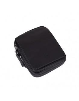 Чёрная компактная мужская сумка на плечо Katana k789104-1
