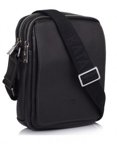 Фотография Чёрная компактная мужская сумка на плечо Katana k789104-1
