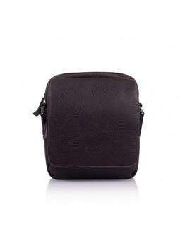 Коричневая кожаная сумка на плечо Katana k83602-2