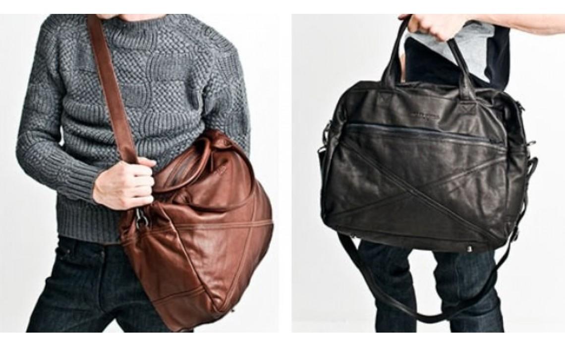 На что обратить внимание при выборе мужской кожаной сумки